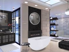 bath featuring coastal shower doors via amy on autodesk homestyler www