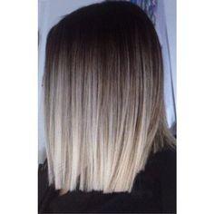 Brown To Blonde Ombre Hair, Balayage Hair Blonde Medium, Brunette Hair, Medium Hair Styles, Short Hair Styles, Short Straight Hair, Long Hair, Gorgeous Hair Color, Grunge Hair