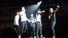 favorite picture from my concert. ONE DIRECTION
