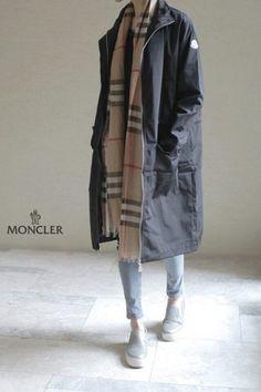 Moncler 몽클레어 트렌치 롱코트 여자자켓