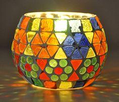 Mosaic Bottles, Mosaic Vase, Mason Jar Candle Holders, Candle Holder Decor, Glass Candle, Glass Art, Vitromosaico Ideas, Glass Painting Designs, Mosaic Madness