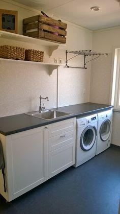 Familjen B Bygger: Vår tvättstuga