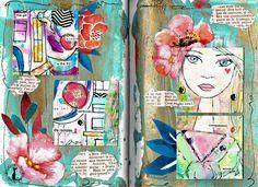 Turquesa, artjournal pares Bienve Prieto