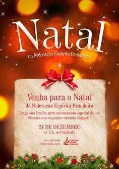 Celebração de Natal na FEB - http://www.agendaespiritabrasil.com.br/2016/12/19/celebracao-de-natal-na-feb/