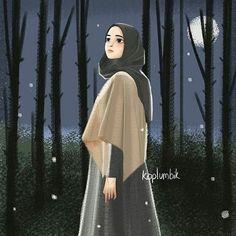 Hijabi Girl, Girl Hijab, Arab Girls, Muslim Girls, Hijab Niqab, Mode Hijab, Muslim Pictures, Hijab Drawing, Islamic Cartoon