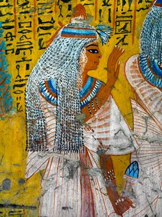 Painting of Tausert from the Tomb of Irinufer