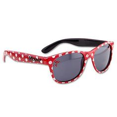 a77a0f26b0 Disney Store Red Polkadot Minnie Mouse Sunglasses Sun Glasses  100% UVA UVB