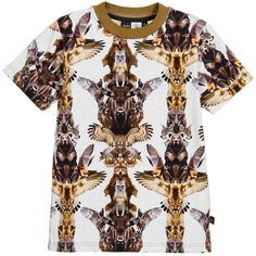 $14.99 (Buy here: https://alitems.com/g/1e8d114494ebda23ff8b16525dc3e8/?i=5&ulp=https%3A%2F%2Fwww.aliexpress.com%2Fitem%2FMolo-Kids-Boys-T-shirts-2016-Summer-Style-Grey-Ralphie-3D-Animal-Totem-Pole-Kids-Short%2F32725276852.html ) Molo Kids Boys T-shirts 2016 Summer Style Grey Ralphie 3D Animal Totem Pole Kids Short Sleeve Tee-shirt Enfant Children Clothing for just $14.99