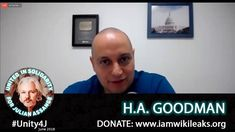 Full interview of H. Goodman speaking out in support of Julian Assange on online vigil