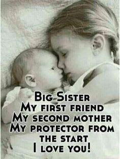I am my sister's keeper! A Sister is God's way of proving he doesn't want me to walk alone. I would do anything for my sister. I Love my sister! Cute Sister Quotes, Brother N Sister Quotes, Little Sister Quotes, Brother And Sister Relationship, Sister Birthday Quotes, Love My Sister, Nephew Quotes, Cousin Quotes, Daughter Quotes