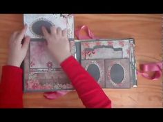video album tales of you and me Book Journal, Journals, Mini Albums Photo, Folio Books, Mini Albums Scrapbook, How To Make Scrapbook, Mini Scrapbooks, Memory Album, Mini Album Tutorial