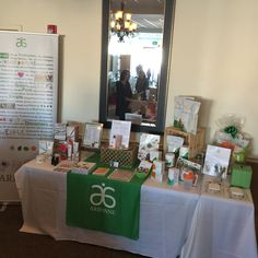 Arbonne vendor table