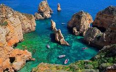 Read our Telegraph Travel expert guide to the Algarve, including the best places to stay, eat, drink as well as the top attractions to visit, and all of the information that you need to know before you go. Hotels In Portugal, Visit Portugal, Spain And Portugal, Portugal Travel, Portugal Trip, Algarve, Vacation Trips, Vacation Spots, Portuguese Culture