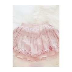 Pink Blush Ruffled Skirt  Pink Blush Ruffled Skirt  size medium - but fits more a small and extra small ! Elastic band for stretch!I take lower offers on Merc @ Ambie Mae &offer Free Ship on D'pop @ambielinaaa. Comment any questions, concerns,etc. & I'll be happy to answer them. Skirts Mini