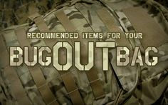 A New Beginning: SAMPLE BUG OUT BAGS