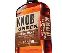 Knob Creek Smoked Maple Old Fashioned