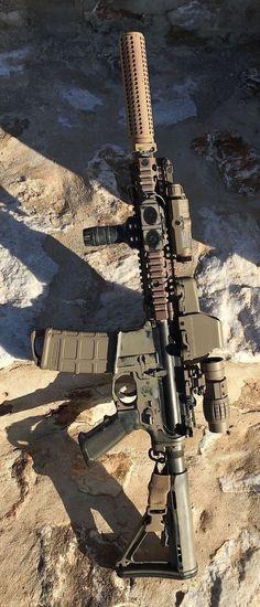 CQBR Block II real steel but would look just as cool airsoft Weapons Guns, Airsoft Guns, Guns And Ammo, Tactical Rifles, Firearms, Shotguns, Revolver, Armas Airsoft, Ar Rifle