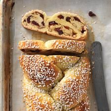 Cranberry Orange Braided Bread - This holiday sweet bread has a subtle orange flavor with a soft, tender crumb.