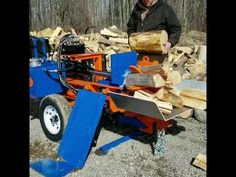 You gotta check this thing out if you're looking for an all out performance splitter. A piece of split wood every second with the Log Splitter For Sale, Fire Wood, Commercial, Ideas, Thoughts