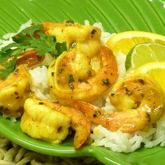 Easy Caribbean Island Lime Shrimp Recipe
