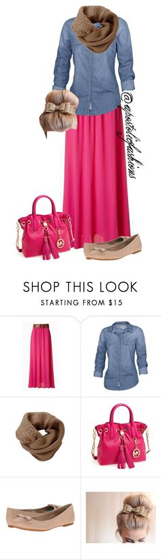 """""""Apostolic Fashions #967"""" by apostolicfashions on Polyvore featuring Jupe de Abby, Fat Face, Humble Chic, MICHAEL Michael Kors and Børn"""
