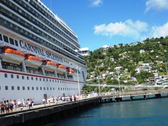 Dominica--a good way to make your first visit--via Carnival or similar.