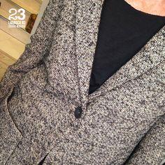 Chaquetón jaspeado de lana en #23CB Lagasca 83