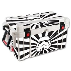 MightySkins Protective Vinyl Skin Decal for Pelican 65 qt Cooler wrap cover sticker skins Star Rays ** To view further for this item, visit the image link.(This is an Amazon affiliate link)