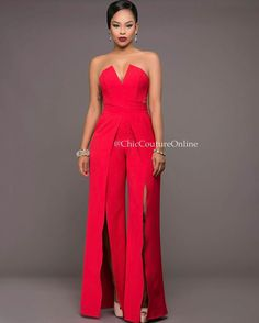 Who loves jumpsuits?🙌 yea they are so trendy right now that I ll will be surprised to know a fashionista that has none! Bridal Shower Favors Diy, Bridal Shower Rustic, Beyonce, Carolina Herrera Bridal, Chic Couture Online, Shower Dresses, Bridal Nails, Davids Bridal Dresses, Indian Outfits