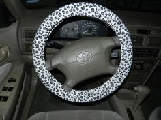 Cheetah Steering Wheel Cover