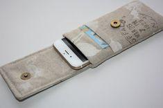 Fabric iPhone 6s Plus Wallet iPhone 6s Plus Sleeve door TASAMA