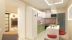 Interior design of a kitchen (Fen shui project)