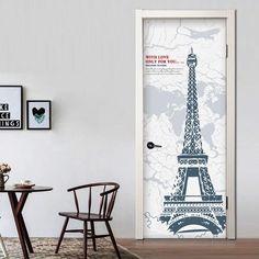 Door Decals – the treasure thrift Interesting Conversation, Door Stickers, Door Wall, Internal Doors, Thrift, Door Handles, Centerpieces, Decals, Home Decor