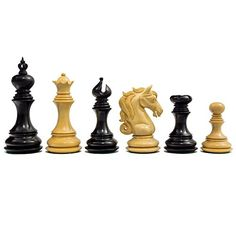 The Cavalry Series Luxury Chessmen Ebony 425 ** Continue to the product at the image link. Black And White Picture Wall, Black And White Pictures, Hand Carved Walking Sticks, Chess Sets, Chess Pieces, Clay Crafts, Image Link, Guns, Boards