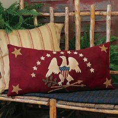 Shield of Honor Bolster PillowWoolens Kit