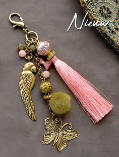 Mehr als 300 TQ Metall Artikel - DIY Schmuck - Handmade Keychains, Diy Keychain, Handmade Jewelry, Beaded Jewelry, Beaded Bracelets, Diy Schmuck, Bijoux Diy, Jewelry Crafts, Jewelery