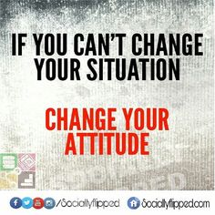 Life Lesson:  Be realistic with your situation. Don't expect to be in control of everything. You have to treat every situation individually and a negative attitude won't help develop the situation for the better.  #quote #quotes #quoteoftheday #pic#life #live #love #learn #lesson #situation #attitude #change #rt  #remember #reminder #wordsdoinspire #wisdom #positive #positivity