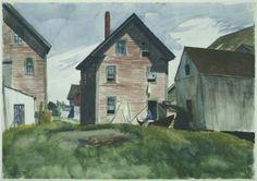 Gloucester Mansion - Edward Hopper 1924