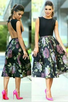 Simple Summer to Spring Outfits to Try in 2019 – Prettyinso Latest Fashion Clothes, Look Fashion, Fashion Dresses, Classy Fashion, Pretty Dresses, Beautiful Dresses, Fiesta Outfit, Vestidos Vintage, Looks Chic