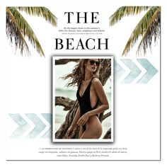 """The Beach"" by holland21 ❤ liked on Polyvore featuring H&M"
