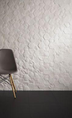 Absolute Selene by Johnson Tiles . love the white, textured tiles Interior Walls, Interior Design, Johnson Tiles, Sofa Workshop, Tiles Texture, Texture Walls, House Tiles, My New Room, Tile Design