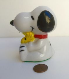 A personal favorite from my Etsy shop https://www.etsy.com/listing/472530389/1960-vintage-ceramic-schulz-snoopy