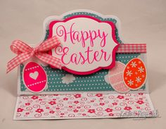 #HappyCalligraphy2stamp #Easter card #eggs4easter #kristine reynolds #The Stamps of Life