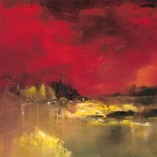 Oeuvre Paysage - Belle nuit - Rose Dalban - Huile
