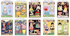 Elmer & Berta Hader Collection 2-ALL CARDSTOCK
