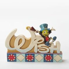 Jiminy Cricket 'WISH' figure from Fantasies Come True