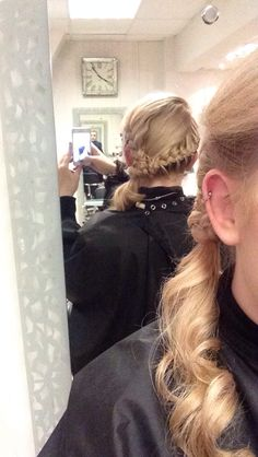 Braided hair up by Kerry