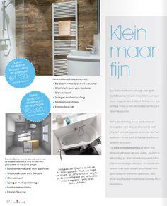 Gratis magazine showroom keukens, badkamers en tegels met een special over kleinebadkamers.nl: Download hier: http://kleinebadkamers.nl/nieuws/gratis-magazine-met-kleine-badkamer-special/