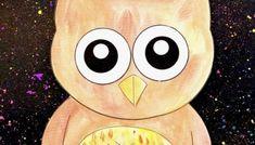 Watercolour Owl Watercolor Jellyfish, Watercolour Painting, Birthday Display In Classroom, September Art, Owl Templates, Australian Birds, Love Drawings, Paint Splatter, Paint Brushes