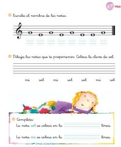 fichas actividades musica - Buscar con Google Music Activities, Reading Activities, Band Rooms, Writing Portfolio, Music Writing, Music Worksheets, Piano Teaching, Music Classroom, Music Theory